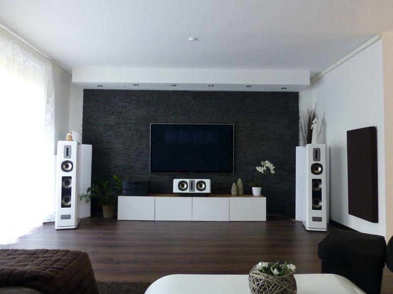 reihenhaus von werner wohnbau in bickenbach ideen hifi wohnzimmer. Black Bedroom Furniture Sets. Home Design Ideas