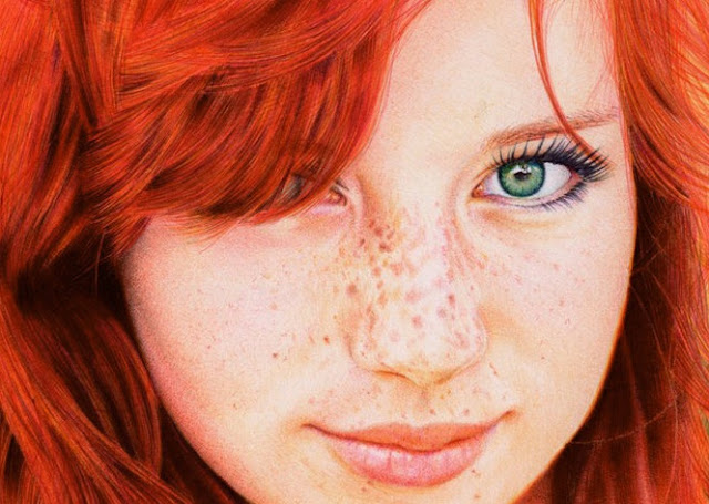 Ballpoint Pen Red Head7