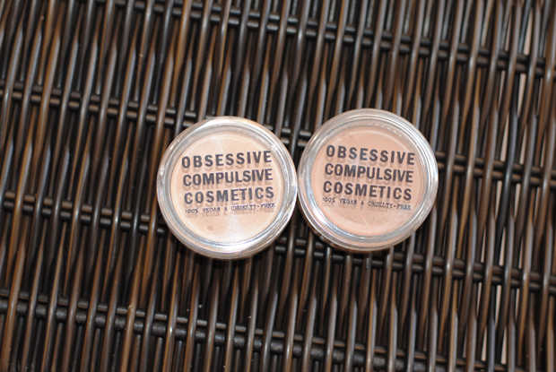 obsessive compulsive cosmetics concealer, concealer for acne, long lasting concealer, review, swatches, best concealers