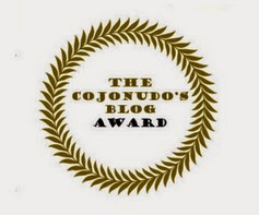The cojonudo's Blog Award