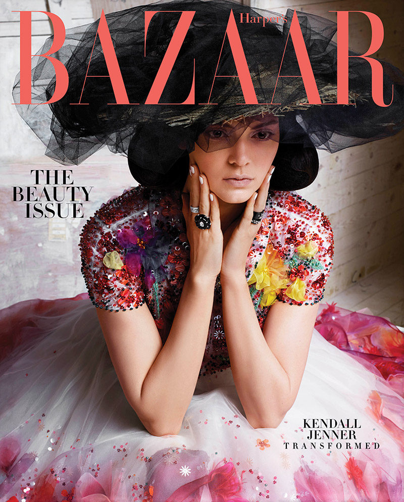 Kendall Jenner is gorgeous in couture for Harper's Bazaar May 2015
