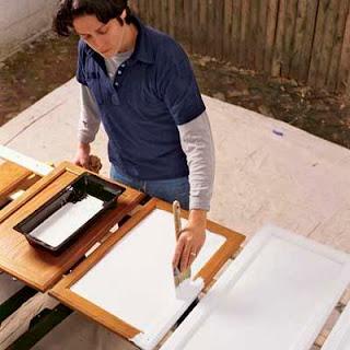 Repreindre des meubles
