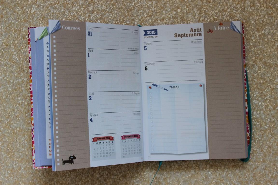 Exceptionnel Organisation: ma revue de 4 agendas familiaux VT99