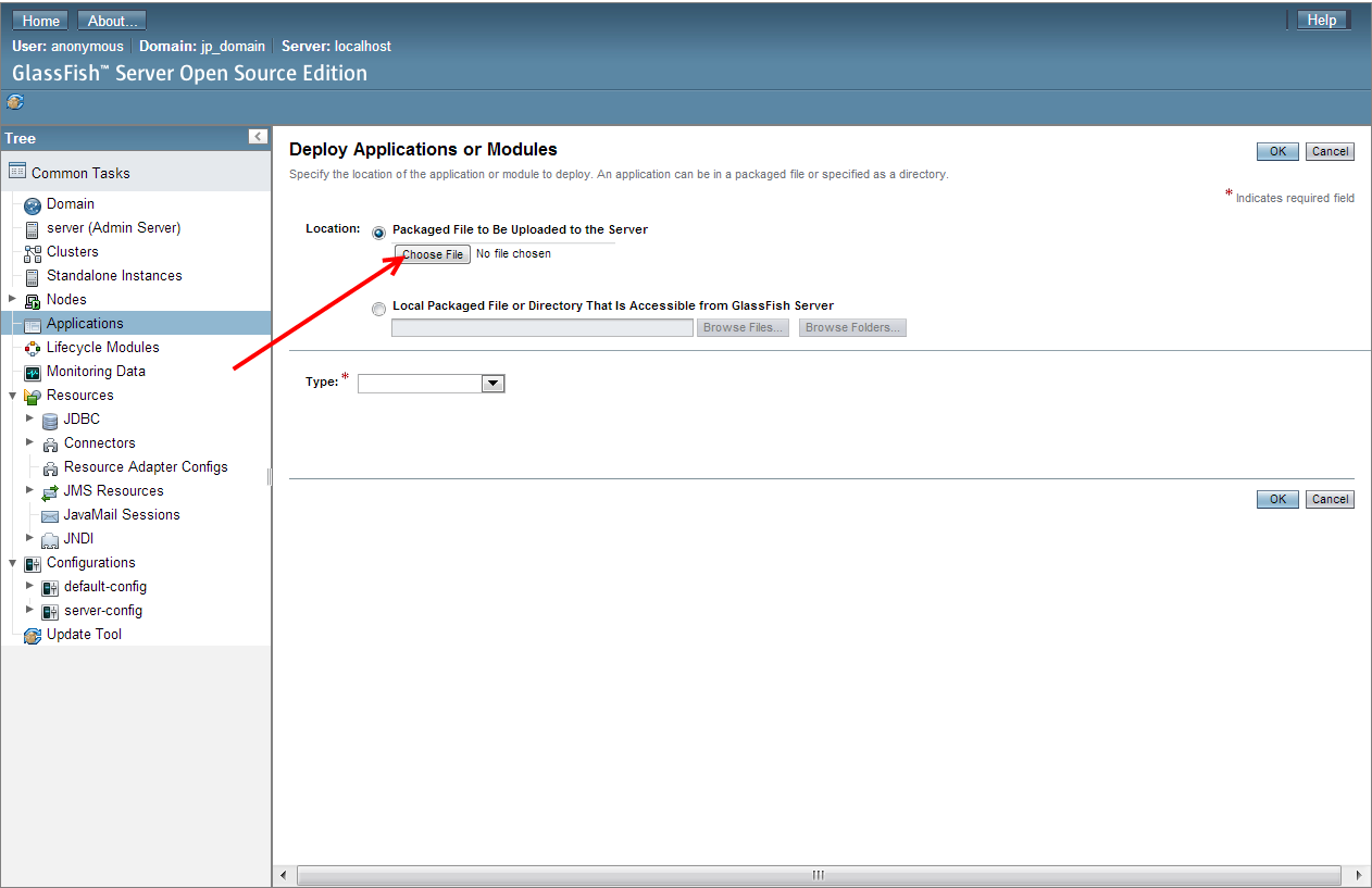 how to download glassfish server in netbeans