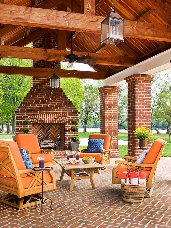 Outdoor Fireplaces Designs New Design Ideas