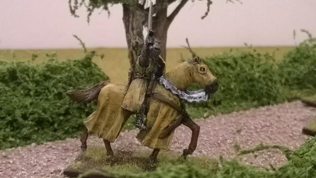 lions rampant mounted men at arms baretheon
