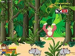 King Kong ăn chuối, game vui