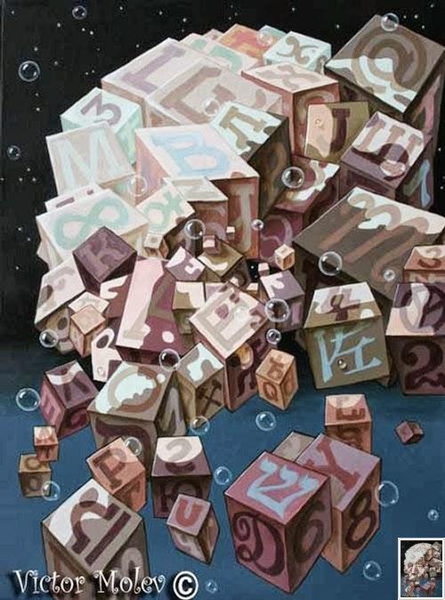 01-Albert-Einstein-Cubes-Theoretical-Physicist-Artist-&-Illustrator-Victor-Molev-www-designstack-co