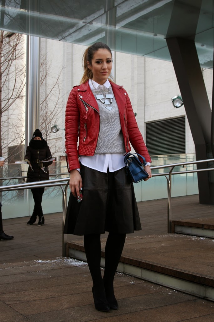 Tamara Kalinic  fashion blogger  from The Glam and the Glitter