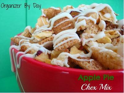 Apple Pie Chex Mix