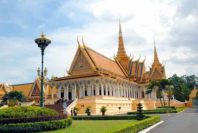 O Palácio Real de Phnom Penh