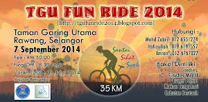 Taman Garing Utama MTB Fun Ride 2014 - 7 September 2014