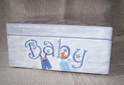 pudełko na zabawki niemowlaka