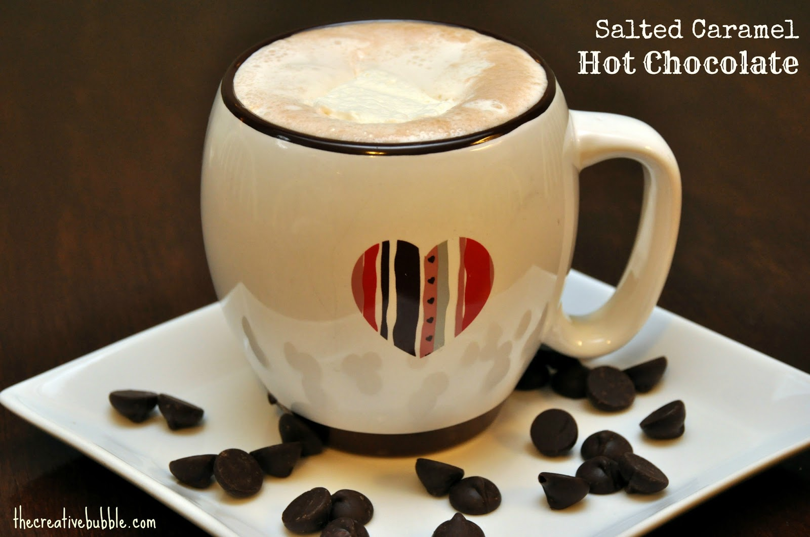 The Creative Bubble: Salted Caramel Hot Chocolate Mix