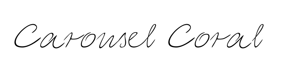 Carousel Coral