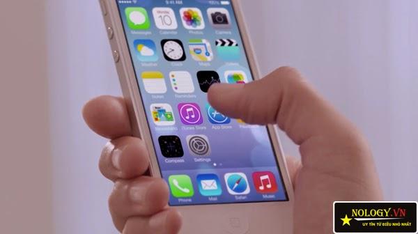 Cách test cảm ứng trên Iphone 5s cũ