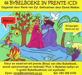 66 Bybelboeke in Prente op CD! (Also available in English!)