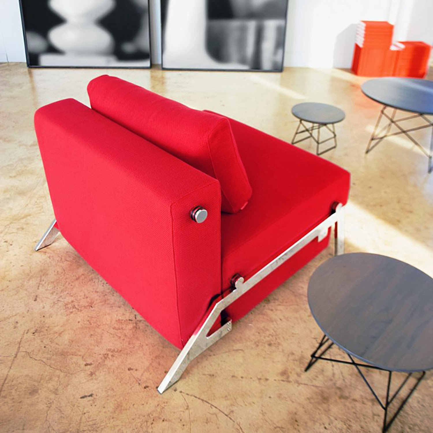 Cubed Sleek Chair by Per Weiss