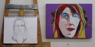 skype portrait by verna vogel