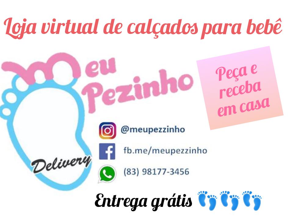 LOJA VIRTUAL DE CALÇADOS PARA BEBÊ