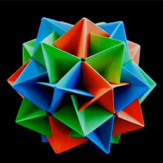 Modular Origami IcosahedronIcosahedron Origami