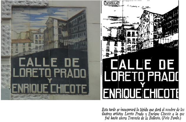 Antiguos caf s de madrid y otras cosas de la villa la for Calle loreto prado y enrique chicote