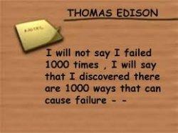 edison said :
