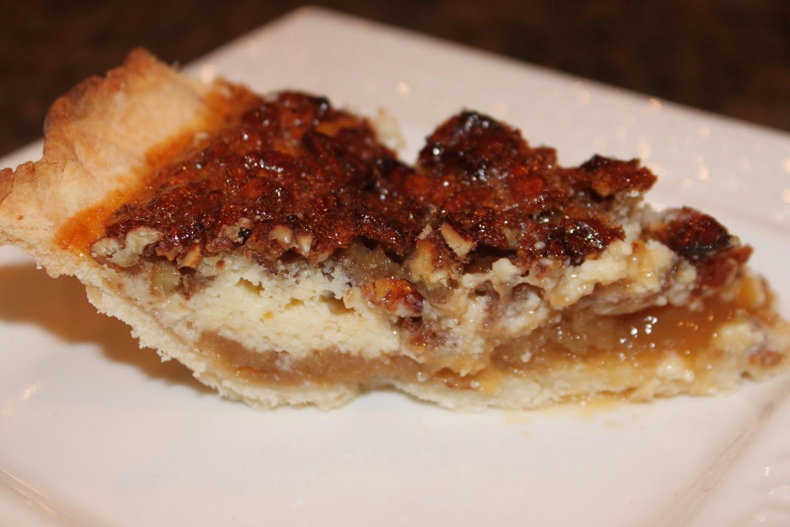 Dishing It Gluten Free: Caramel Pecan Cheesecake Pie