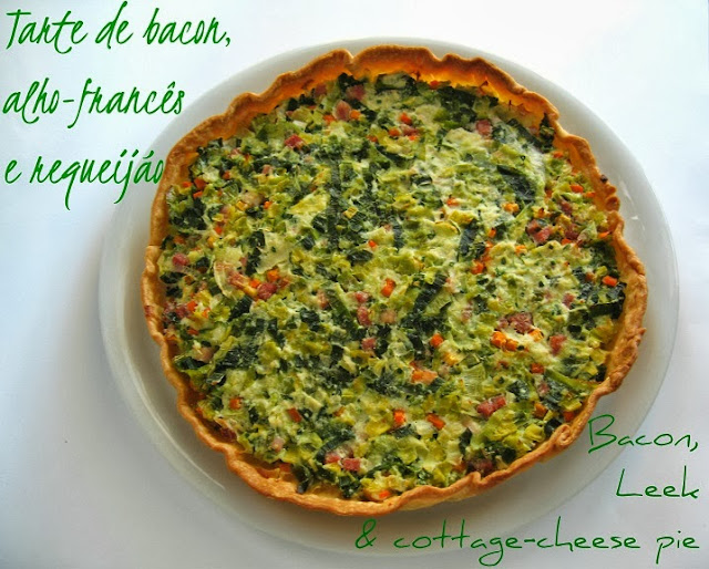Tarte de bacon,...