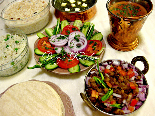 preety 39 s kitchen punjabi style indian meal nov 24x24