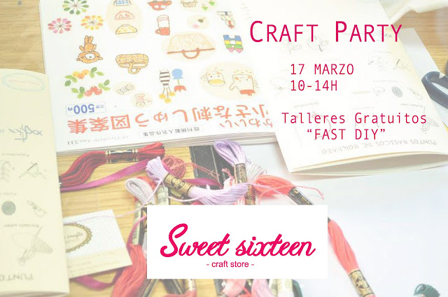Craft party talleres gratuitos en madrid