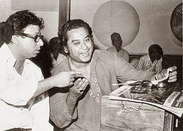 KISHORE KUMAR and R D BURMAN