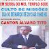 GRANDE CULTO DE MISSÕES COM A PARTICIPAÇÃO DO CANTOR ÁLVARO TITO NO TEMPLO SEDE DA ASSEMBLEIA DE DEUS EM SERRA DO MEL