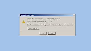 Buka file word