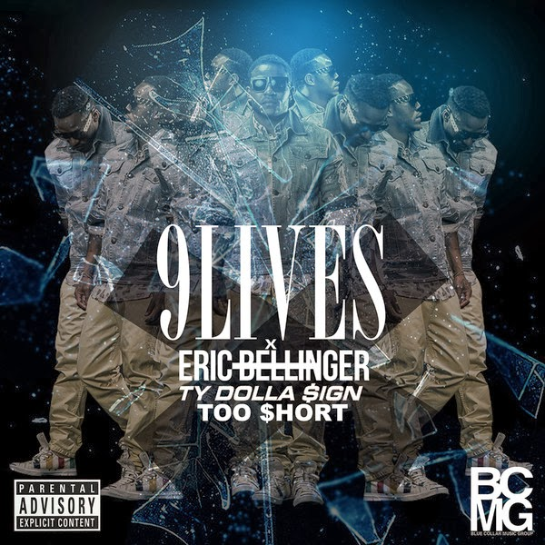 Eric Bellinger - 9 Lives - Single (feat. Too $hort & Ty Dolla $ign) - Single  Cover