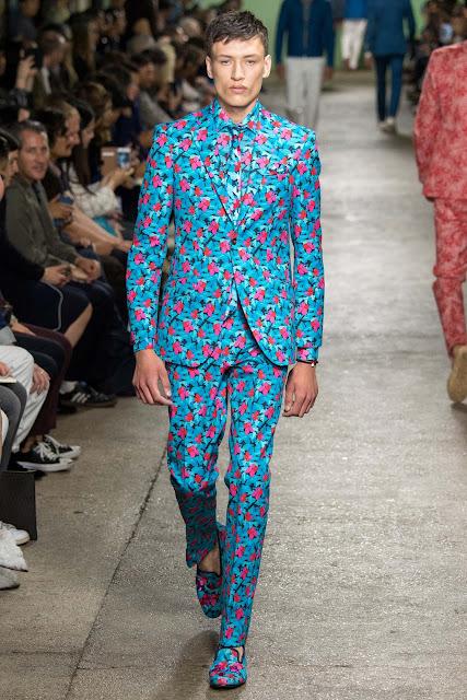 Wzorzyste garnitury Richard James 2015