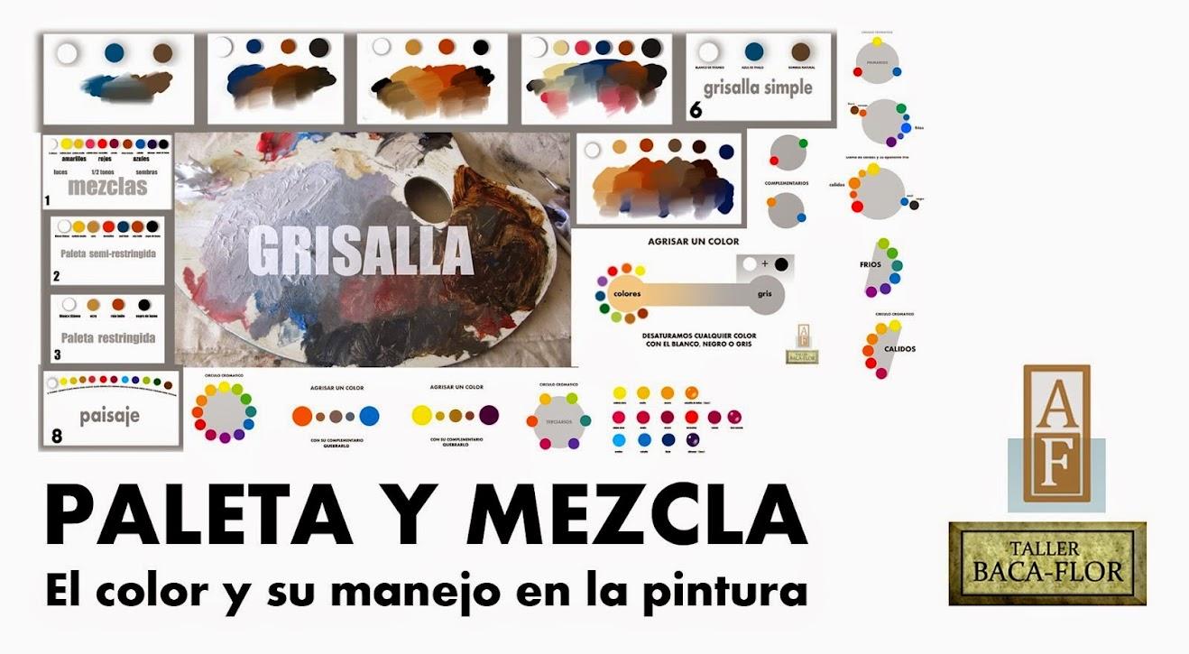 SERIE: PALETA Y MEZCLA