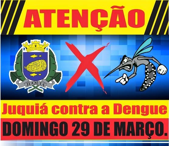 Prefeitura de Juquia inicia mutirão de limpeza contra a Dengue.
