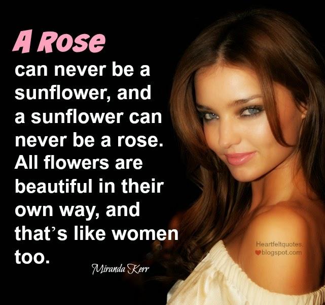 Admire Quotes Beauty Beauty Quotes by Miranda Kerr