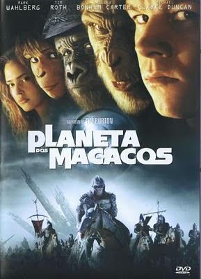 Filme Planeta Dos Macacos Dublado AVI DVDRip