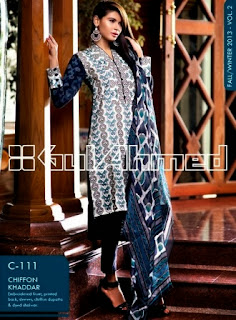 Gul Ahmed Winter Dresses 2013