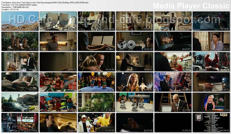 Alvin and the Chipmunks - The Squeakquel 2009 video thumbnails