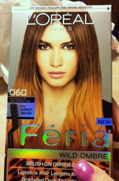 Jen Loves Life: L'Oreal Paris USA Feria Wild Ombre Hair Color Review