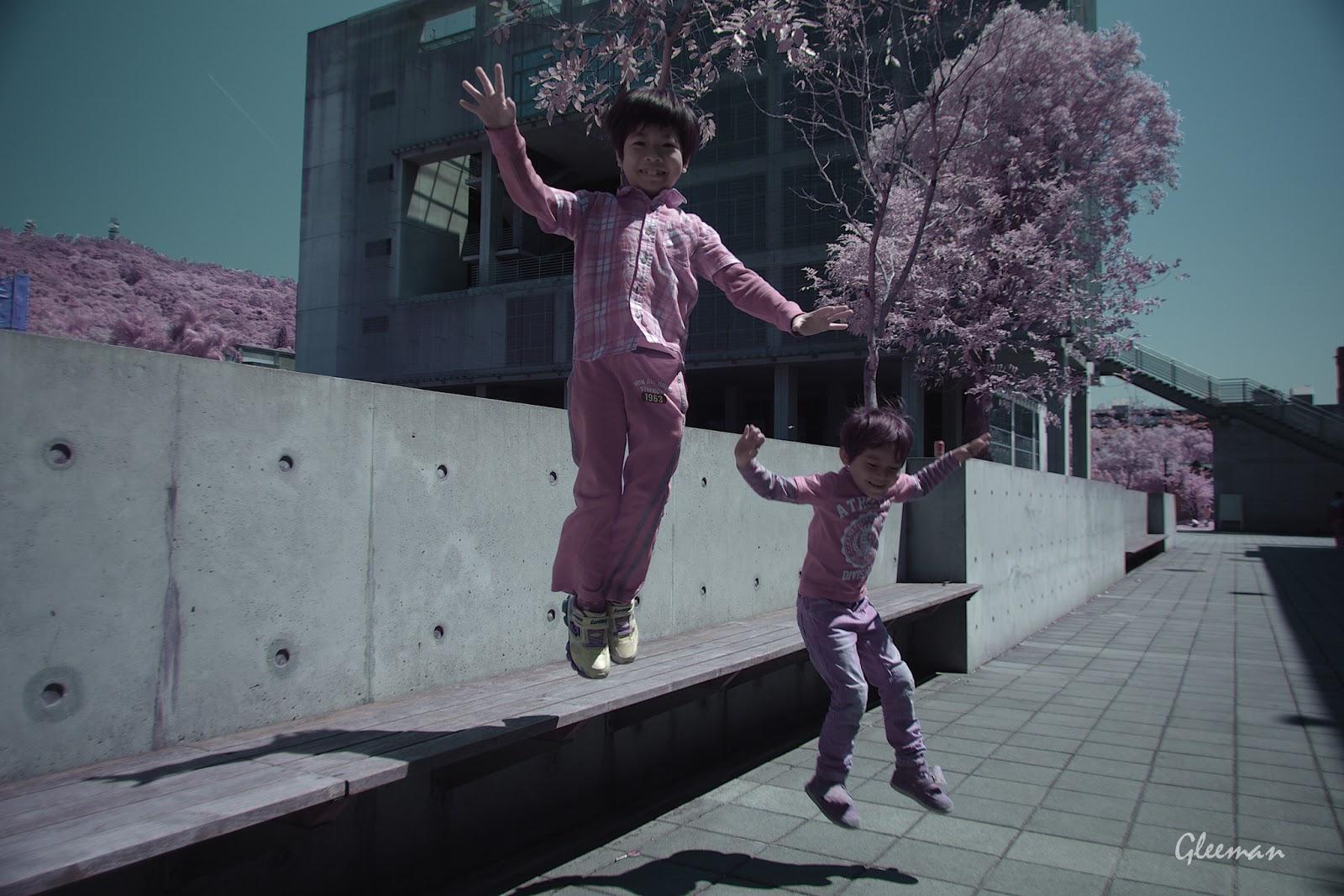 彩色紅外線攝影 (Pentax K5 Color IR Photography), Jump again!