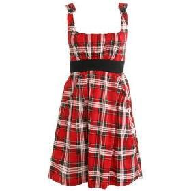 dicas de vestidos xadrez