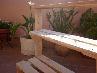 Los muebles de exterior de palets de malen - Muebles exterior palets ...
