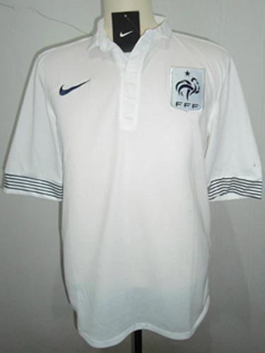 jersey prancis away putih