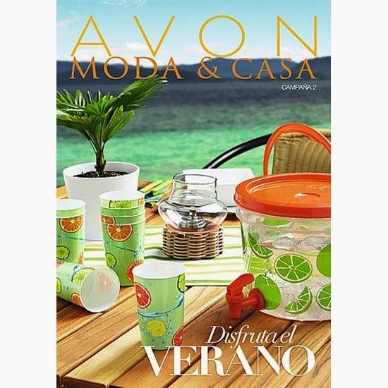 Avon 2014 c 02 moda casa cat logo enero febrero lo vi y lo quiero - Natura casa catalogo ...