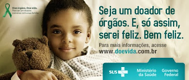 Seja um doador de órgãos!