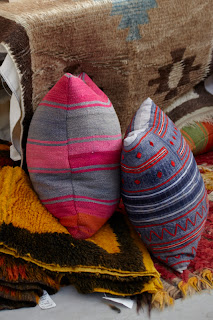 Virginia Davidson Interior pillows and rugs